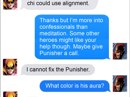 Texts From Superheroes: Not All Auras Are Created Equal
