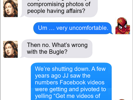 Texts From Superheroes: Pivot