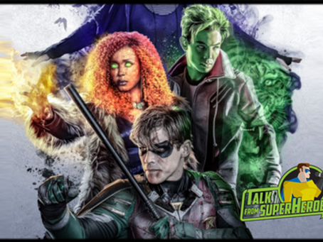 Talk From Superheroes: Titans