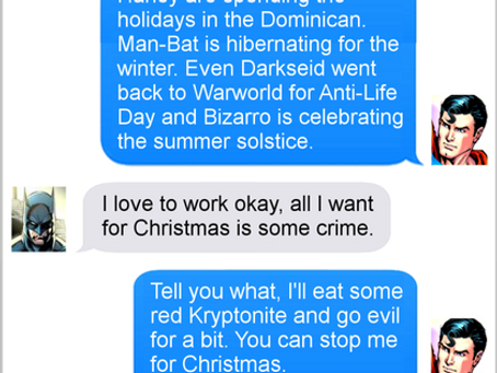 Texts From Superheroes: Let's Party