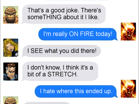 Texts From Superheroes: Independence Day