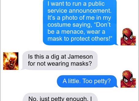 Texts From Superheroes: PR Strategy