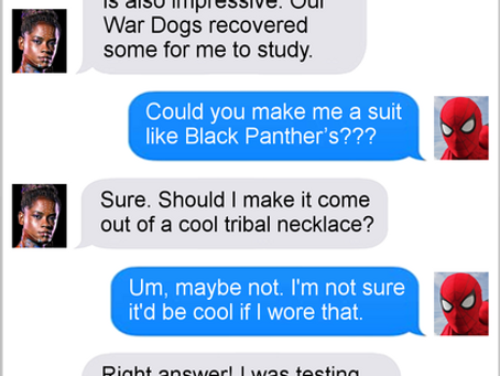 Texts From Superheroes: Suit Up