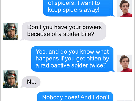 Texts From Superheroes: Turned Out Great