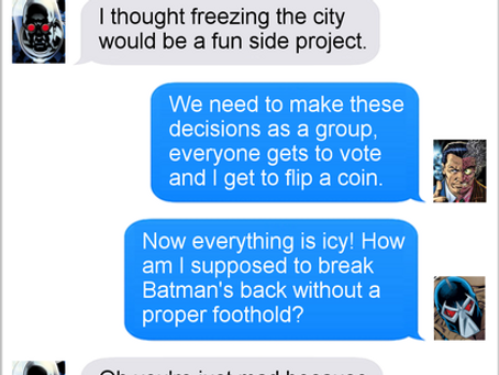 Texts From Superheroes: A Plan Comes Together