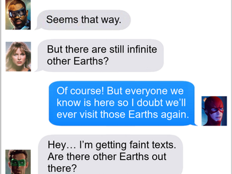 Texts From Superheroes: Don't Call Us, We Won't Call You