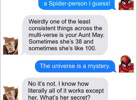Texts From Superheroes: Maybe It's Maybelline