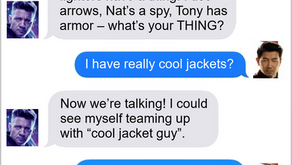 Texts From Superheroes: That's The Thing