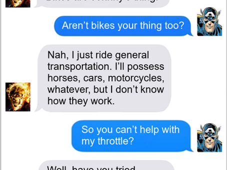 Texts From Superheroes: Spirit of Assistance