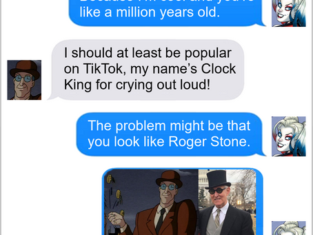 Texts From Superheroes: Time For An Update