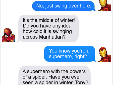 Texts From Superheroes: Best of Team Iron Man