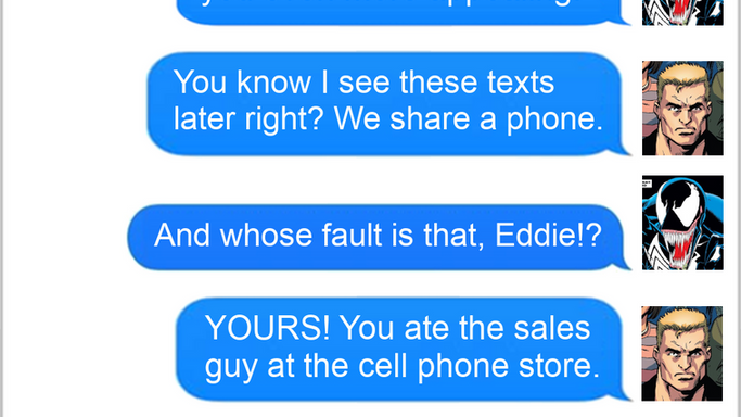 Texts From Superheroes: Best of Venom