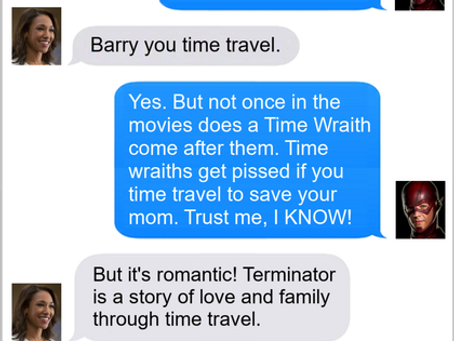 Texts From Superheroes: Been Then, Done That