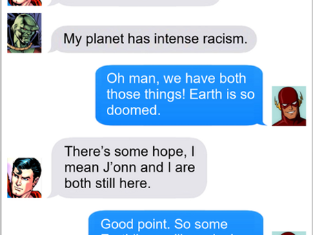 Texts From Superheroes: Survival Instinct