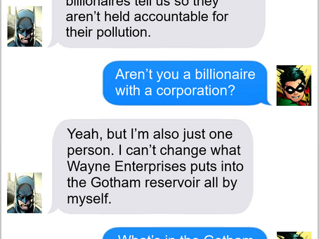 Texts From Superheroes: He's Just One Batman