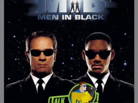 Talk From Superheroes: Men In Black