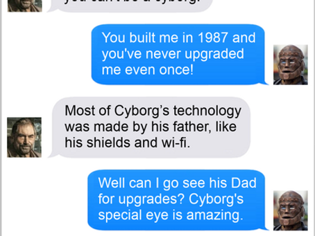 Texts From Superheroes: The Tech Is Always Greener On The Other Side