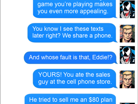 Texts From Superheroes: In-Fighting