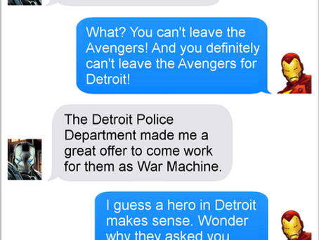 Texts From Superheroes: Remake A Classic