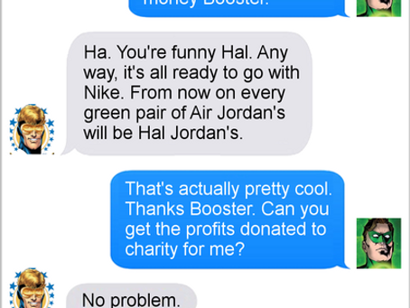 Texts From Superheroes: All That Is Gold