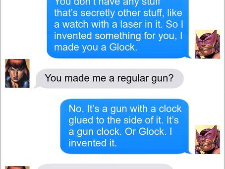 Texts From Superheroes: Innovation