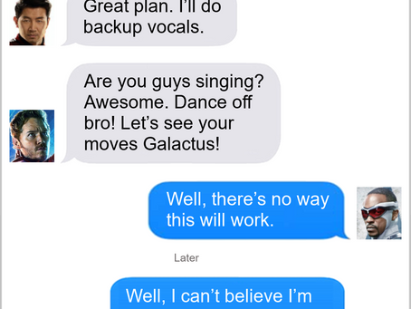 Texts From Superheroes: Party Time