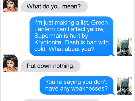 Texts From Superheroes: The Best of Wonder Woman