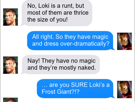 The Best Loki Texts From Superheroes