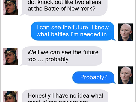 Texts From Superheroes: That's One