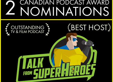 Canadian Podcast Award Nominations!