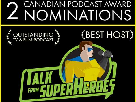 Canadian Podcast Award Nominations!
