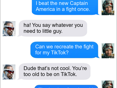 Texts From Superheroes: Congratulations