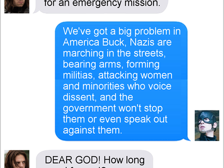 Texts From Superheroes: Wake-Up Call