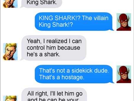 Texts From Superheroes: Hostage Negotiations