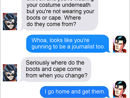 Texts From Superheroes: Sorry We Asked