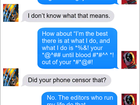 Texts From Superheroes: Content Warning