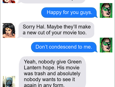 Texts From Superheroes: Director's Cut