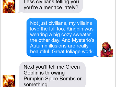Texts From Superheroes: Love The Fall