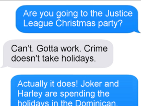 Texts From Superheroes: Best of Christmas