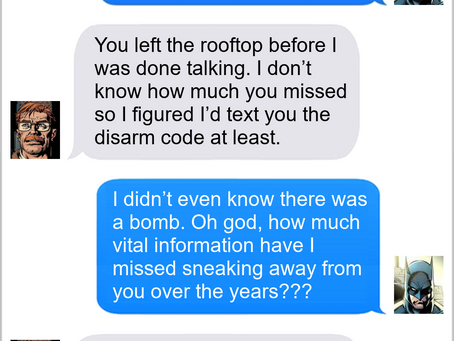 Texts From Superheroes: Listening Exercise