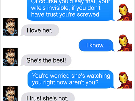 Texts From Superheroes: Relationship Advice