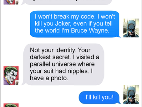 Texts From Superheroes: Oops