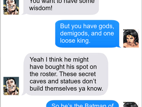 Texts From Superheroes: One-Sixth Batman