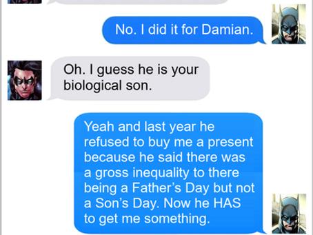Texts From Superheroes: Mark Your Calendar
