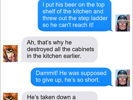 Texts From Superheroes: Redecorating