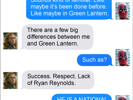 Texts From Superheroes: Time Is A Flat Circle
