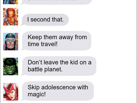 Texts From Superheroes: Super-Mom