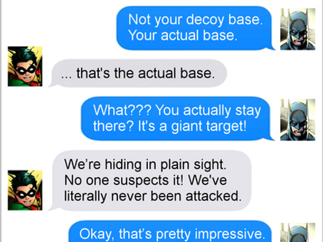 Texts From Superheroes: Structurally Sound