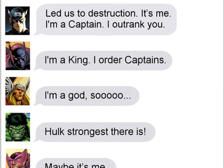Texts From Superheroes: Job Opening