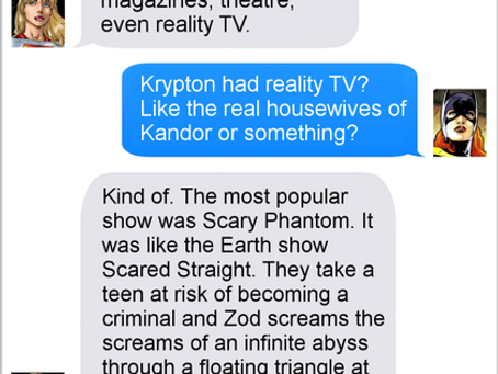Texts From Superheroes: Alternate Reality Television